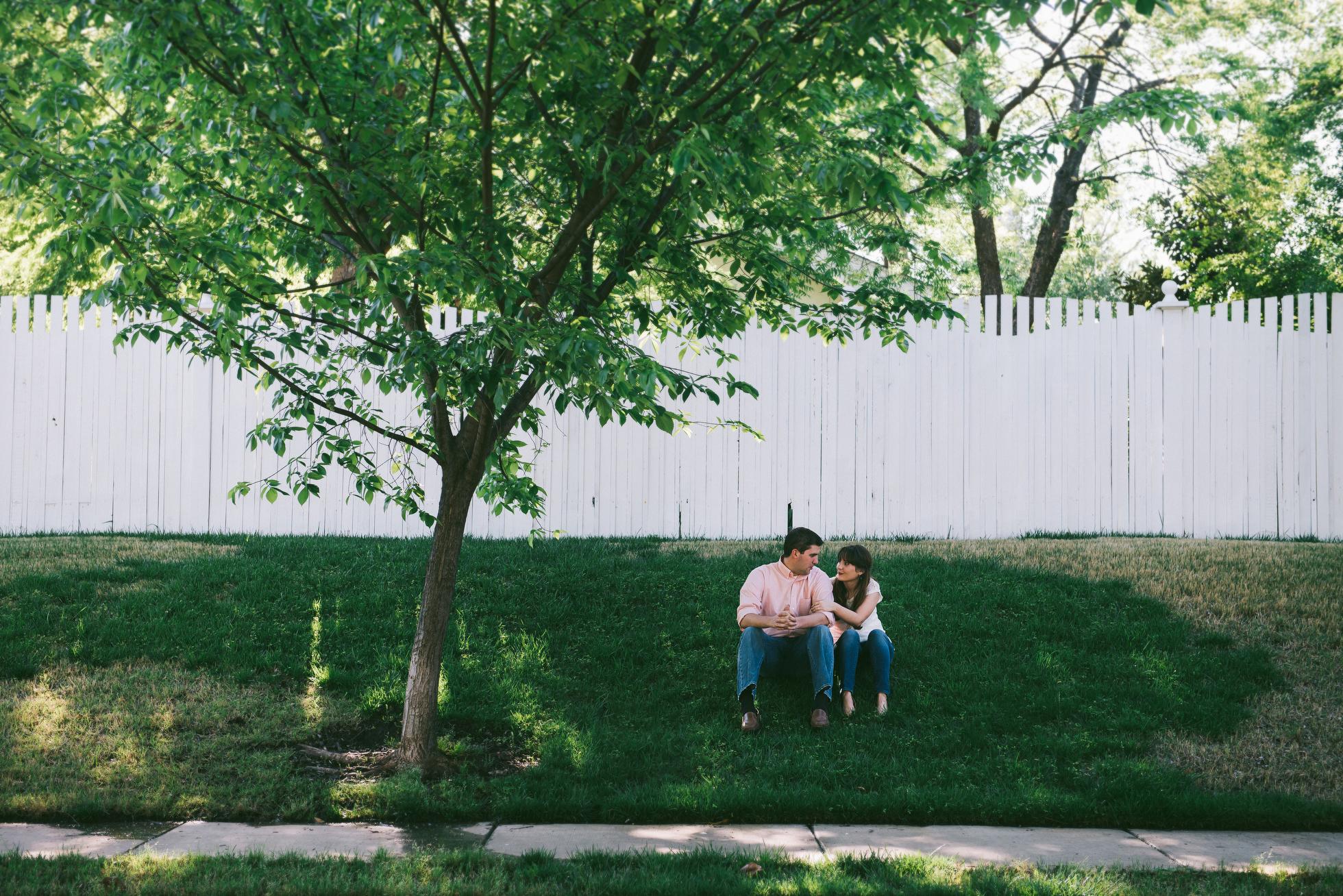 Midtown Oklahoma City Engagement Kahle Jennifer