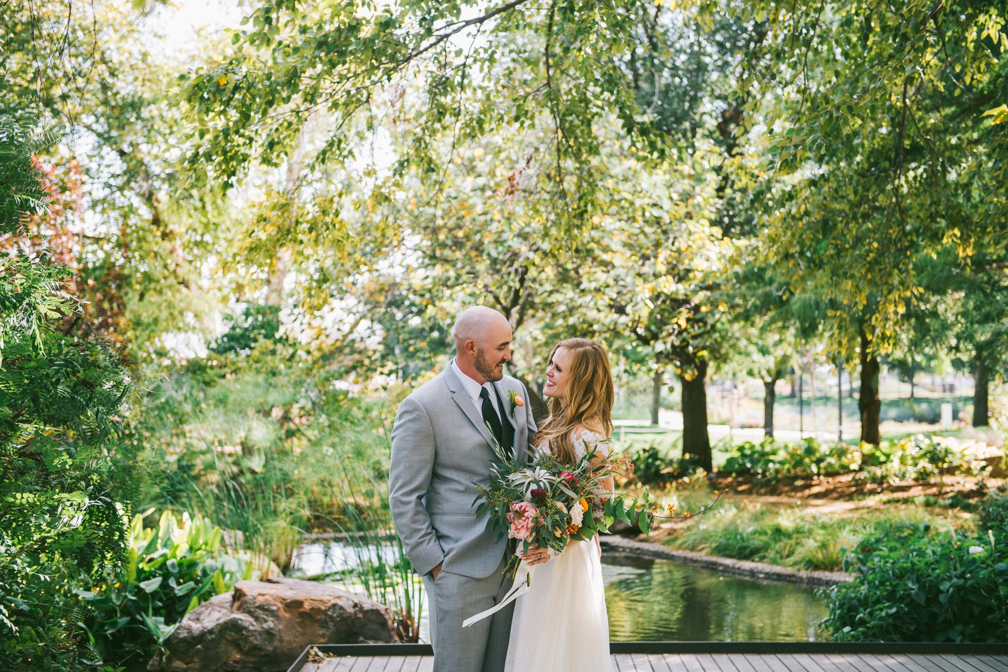 Myriad Botanical Gardens Okc Wedding
